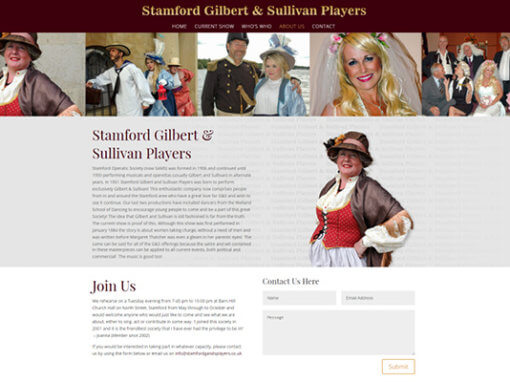 Stamford Gilbert & Sullivan Players