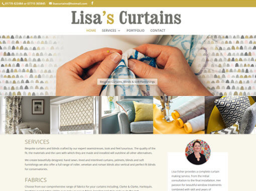Lisa's Curtains
