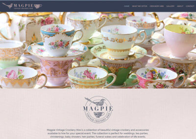 Magpie Vintage Crockery Hire