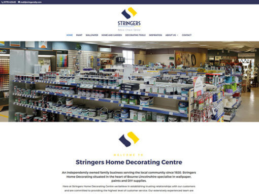Stringers Home Decorating Centre