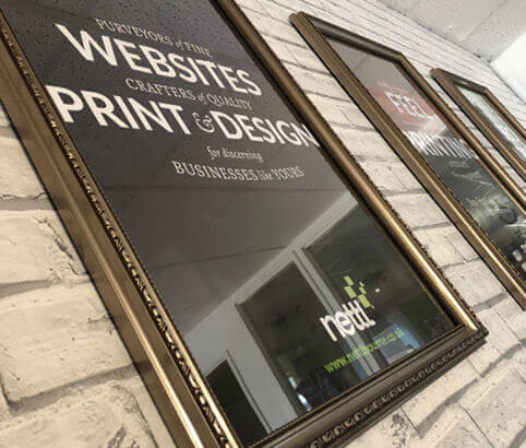 interior print posters in Nettl Design Studio