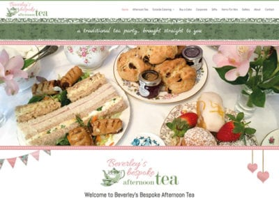 Beverley's Bespoke Afternoon Tea
