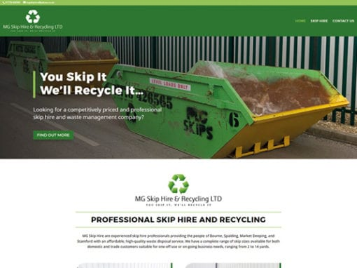 MG Skip Hire & Recycling LTD