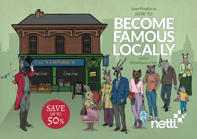 Nettl Bourne Become Famous Locally